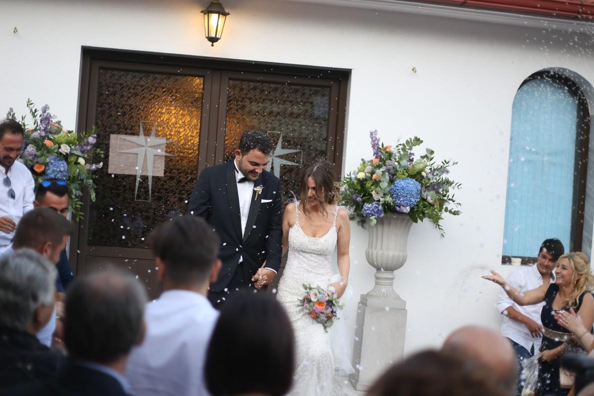 Ρομαντικός γάμος σε λιλά αποχρώσεις | Γιώργος & Άννα