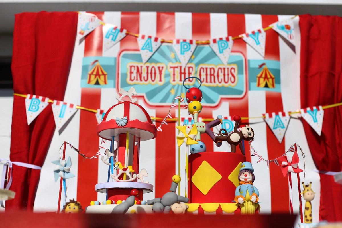 Παιδικά γενέθλια με θέμα το Τσίρκο
