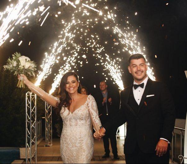 Αριστοκρατικός γάμος σε λευκές αποχρώσεις | Στέλιος & Λιάνα